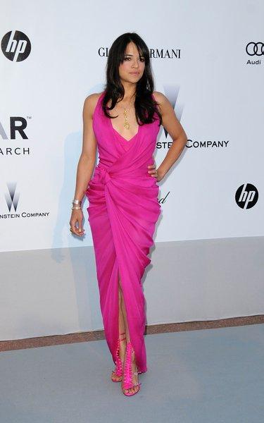 21.05.2010 - Cannes 63 - amfAR - Michelle Rodriguez - Makeup hair Massimo Serini