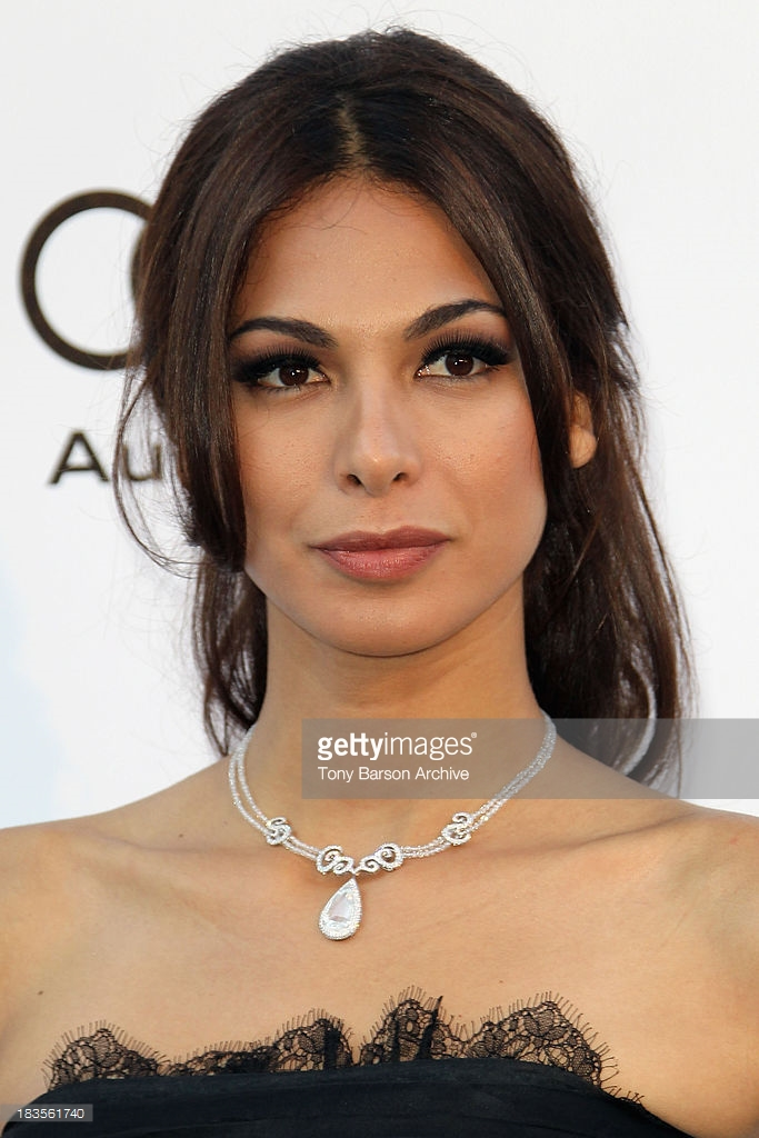 21.05.2010 - Cannes 63 - amfAR - Moran Atias - Makeup hair Massimo Serini