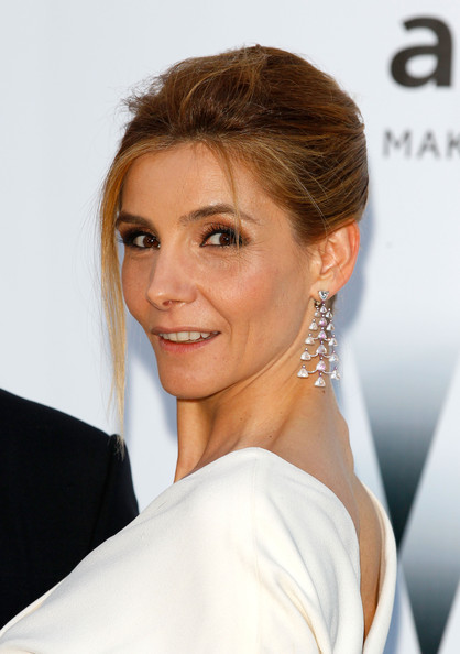 24.05.2012 - Cannes 65 - amfAR - Clotilde Courau - Makeup hair Massimo Serini