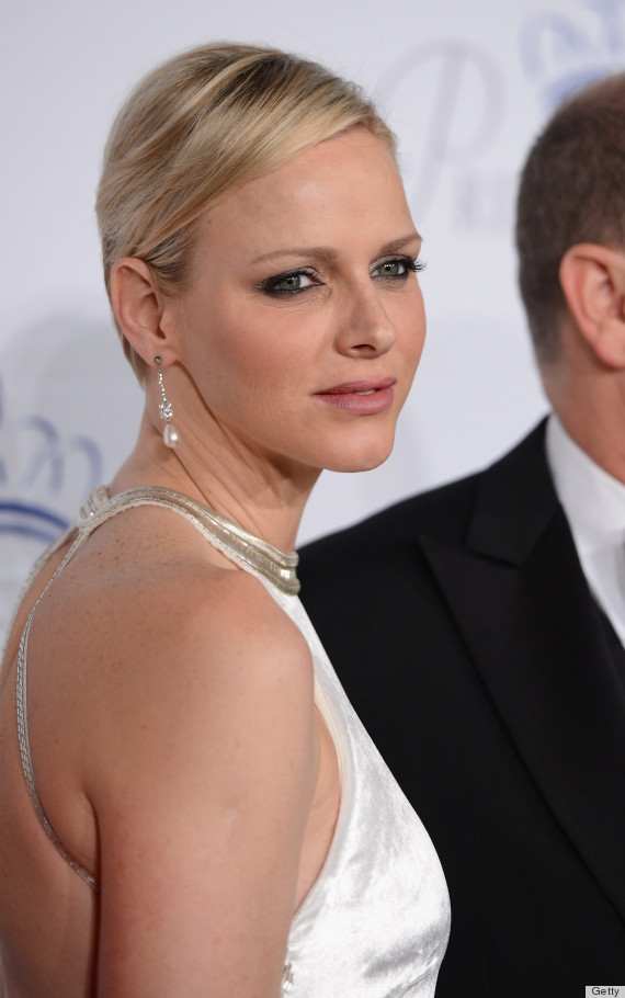 23.10.2013 - 30th Anniversary Princess Grace Awards Gala - Charlene Di Monaco - Makeup hair Massimo Serini