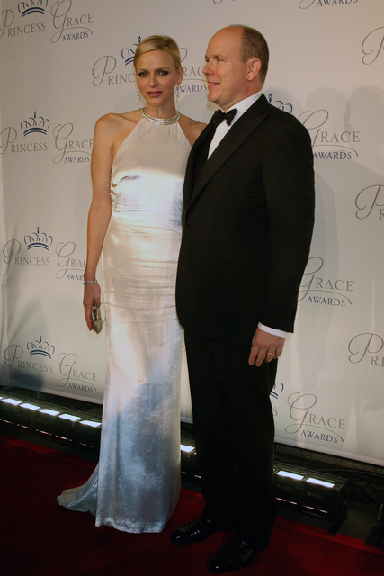 23.10.2013 - 30th Anniversary Princess Grace Awards Gala - Charlene Di Monaco - Makeup hair Massimo Serini