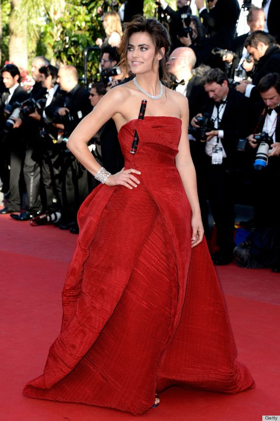 20.05.2013 - Cannes 66 - Blood Ties premiere - Alyson Le Borges - Makeup hair Massimo Serini