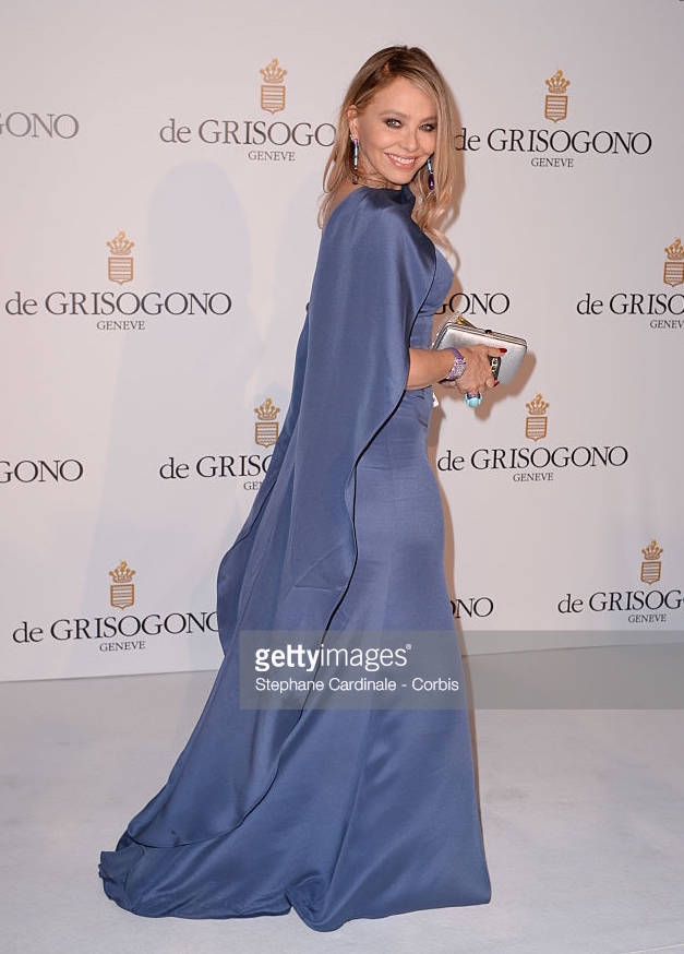 21.05.2013 - Cannes 66 - De Grisogono Party - Ornella Muti - Hair Massimo Serini