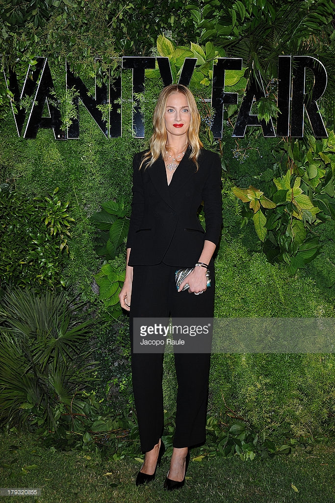 01.09.2013 - Venezia 70 - Vanity Fair 10th anniversary party - Eva Riccobono - Hair Massimo Serini