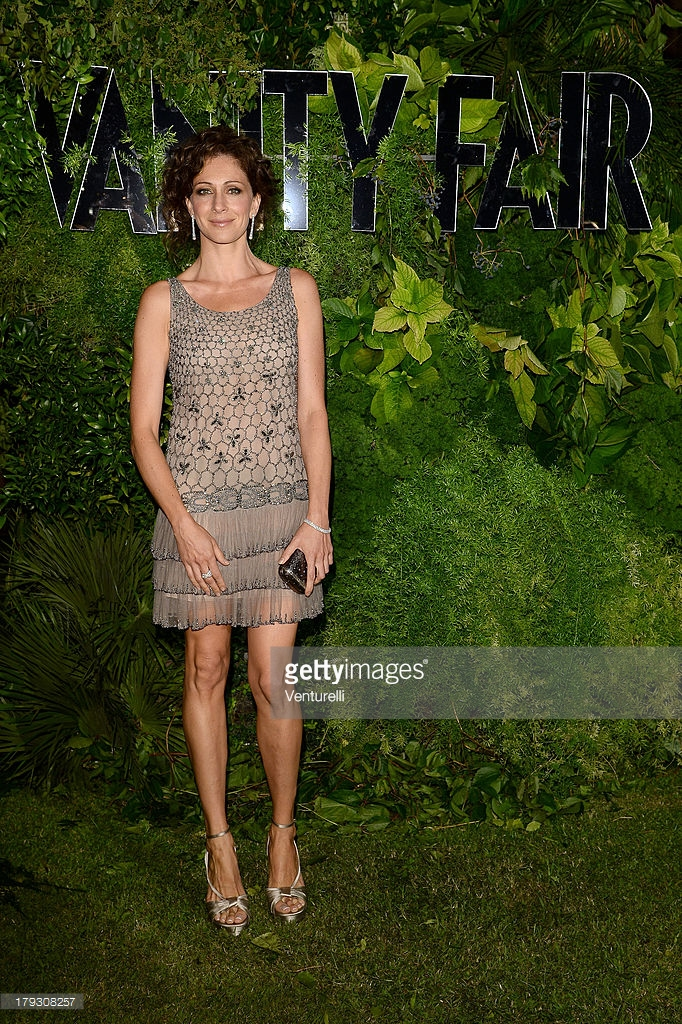 01.09.2013 - Venezia 70 - Vanity Fair 10th anniversary party - Ksenia Rappoport - Makeup hair Massimo Serini
