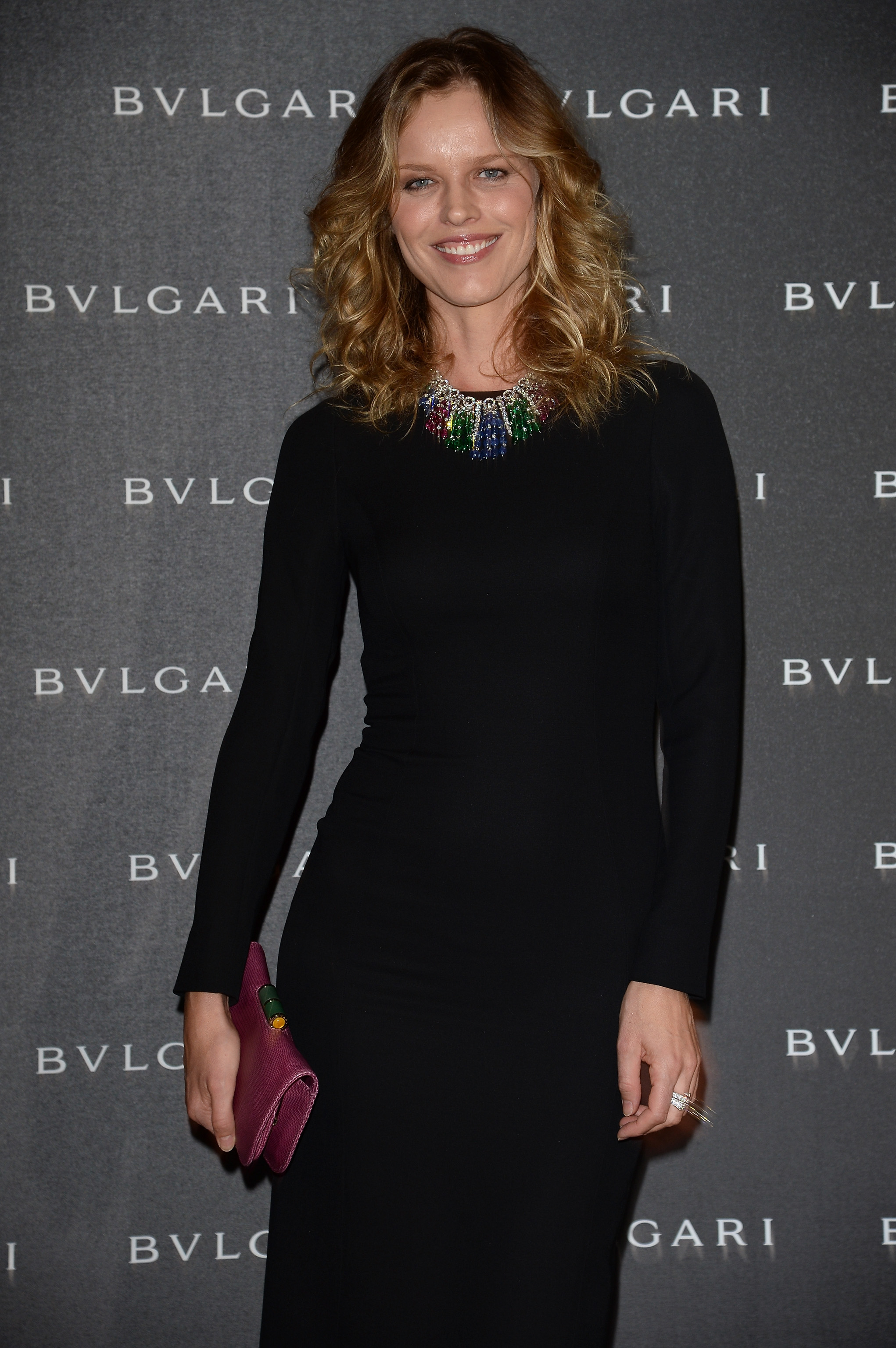 21.09.2014 - Bulgari Spring/Summer 2014 Accessories Collection - Eva Herzigova - Makeup hair Massimo Serini