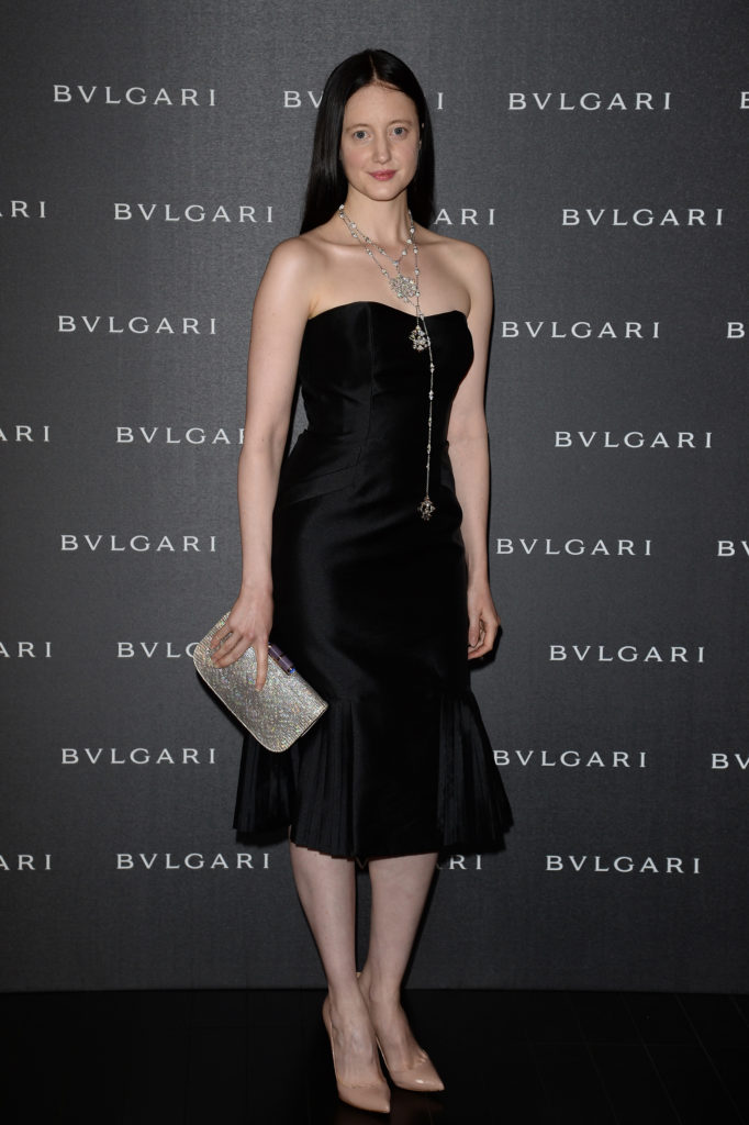21.09.2014 - Bulgari Spring/Summer 2014 Accessories Collection - Andrea Riseborough - Makeup hair Massimo Serini