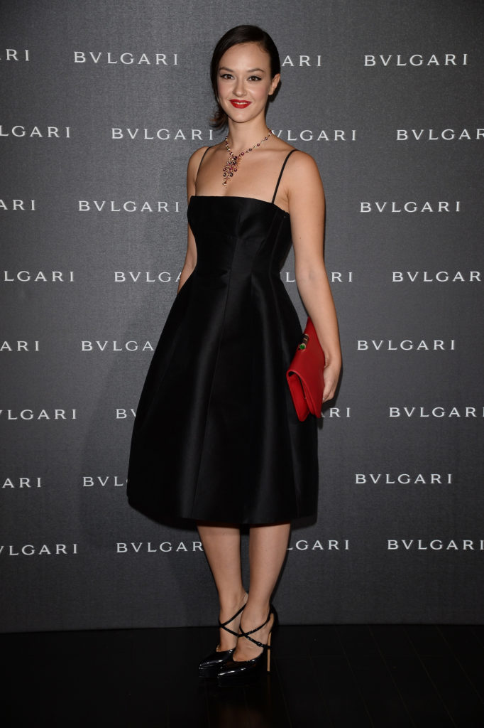 21.09.2014 - Bulgari Spring/Summer 2014 Accessories Collection - Marta Gastini - Makeup hair Massimo Serini