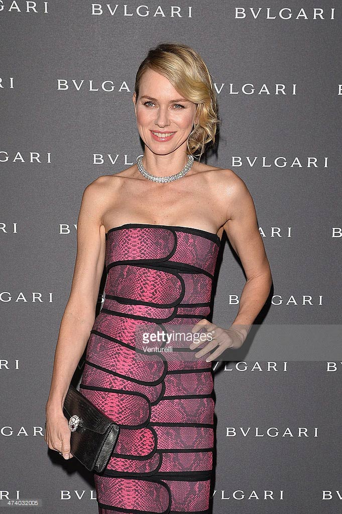 21.02.2014 - MFW FW14 Bulgari Accessories presentation - Naomi Watts - Makeup hair Massimo Serini