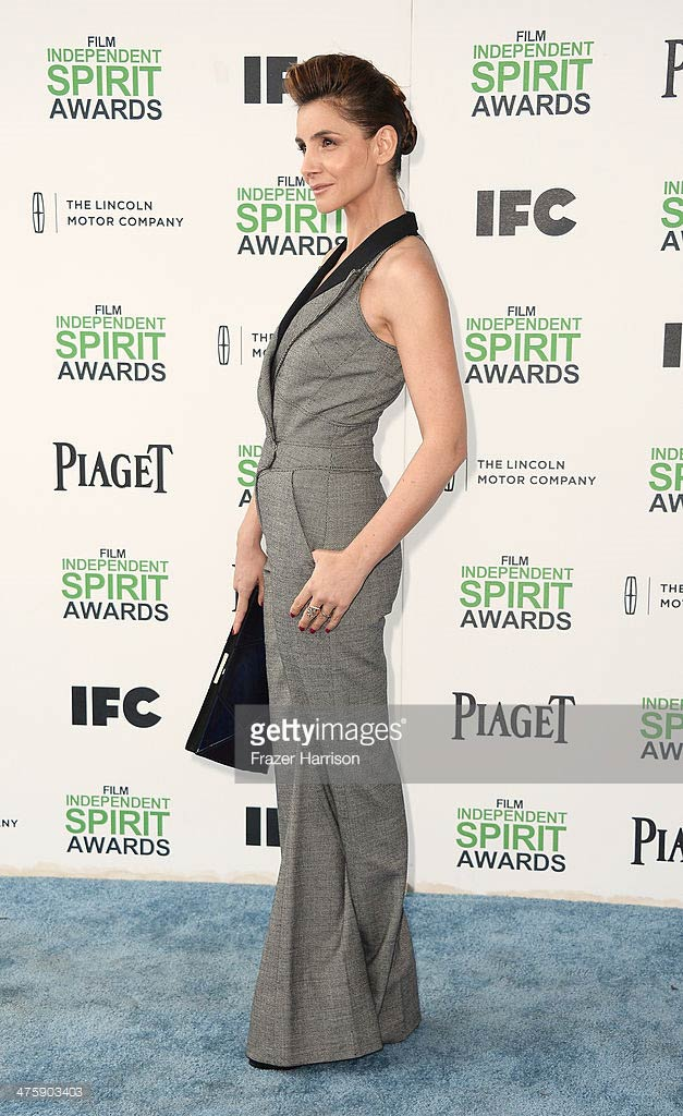 01.03.2014 - Spirit awards - Clotilde Courau - Makeup hair Massimo Serini