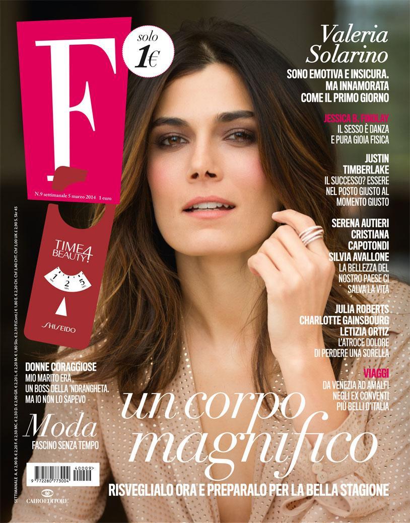 05.03.2014 - F - Valeria Solarino - Hair Massimo Serini