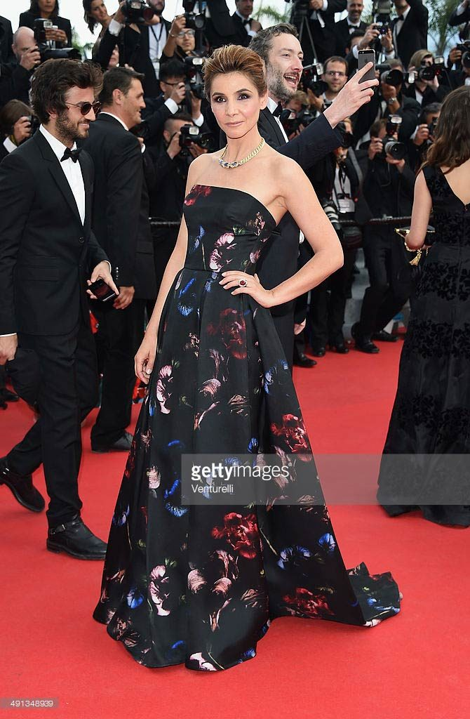 16.05.2014 - Cannes 67 - How to train your dragon premiere - Clotilde Courau - Makeup hair Massimo Serini