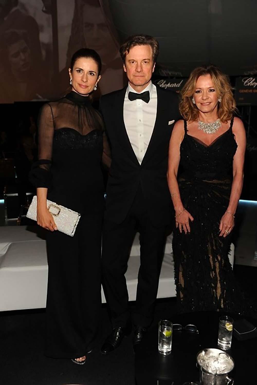 19.05.2014 - Cannes 67 - Chopard backstage dinner - Colin and Livia Firth, Caroline Scheufele - Makeup hair Massimo Serini