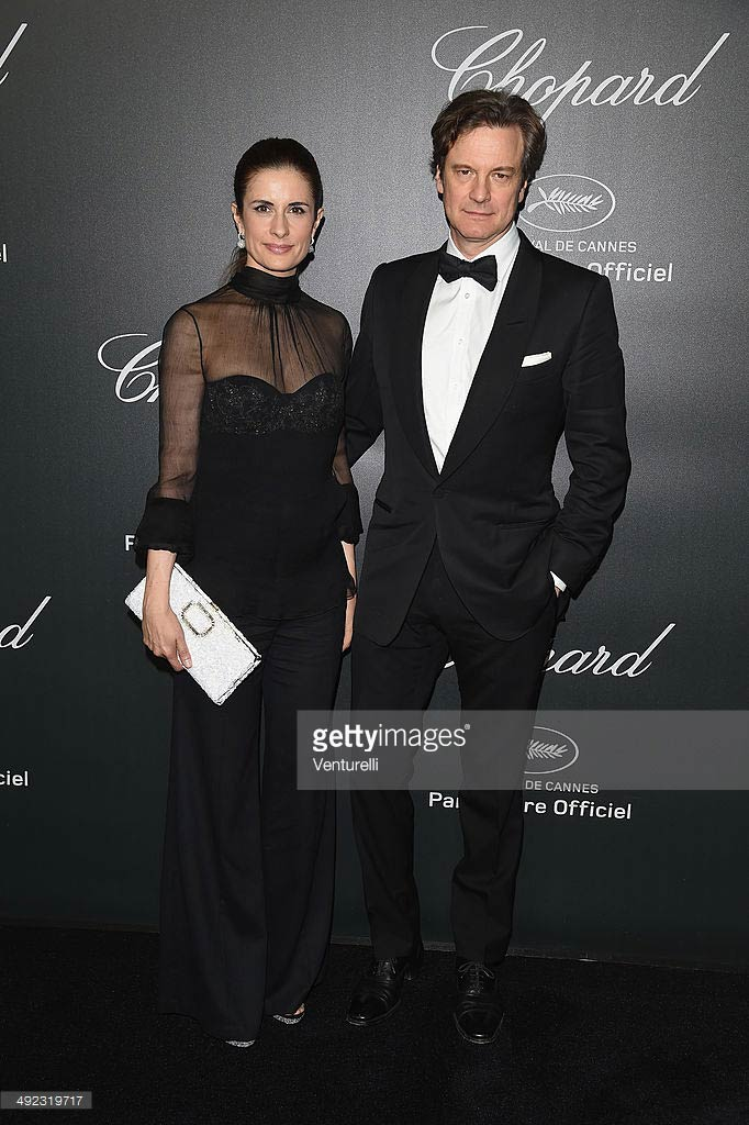 19.05.2014 - Cannes 67 - Chopard backstage dinner - Colin and Livia Firth - Makeup hair Massimo Serini