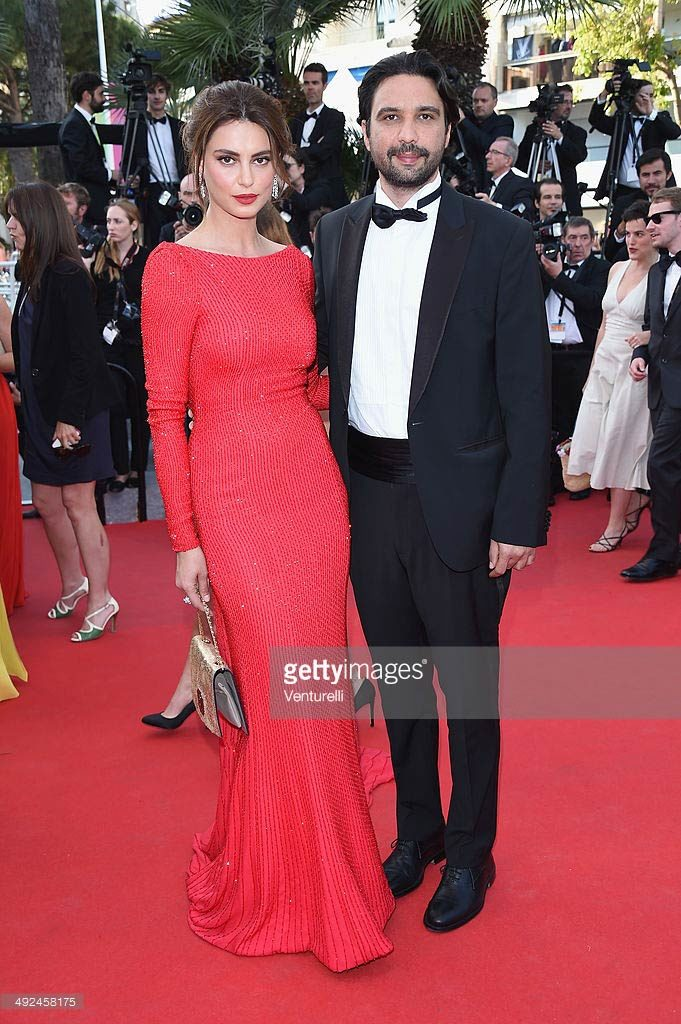 20.05.2014 - Cannes 67 - La voce umana premiere - Catrinel Marlon - Dress Ralph and Russo - Makeup hair Massimo Serini
