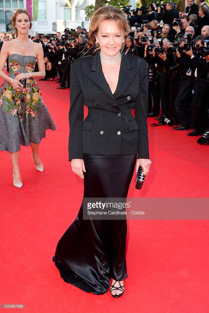 20.05.2014 - Cannes 67 - Two Days, One Night premiere - Caroline Scheufele - Makeup hair Massimo Serini