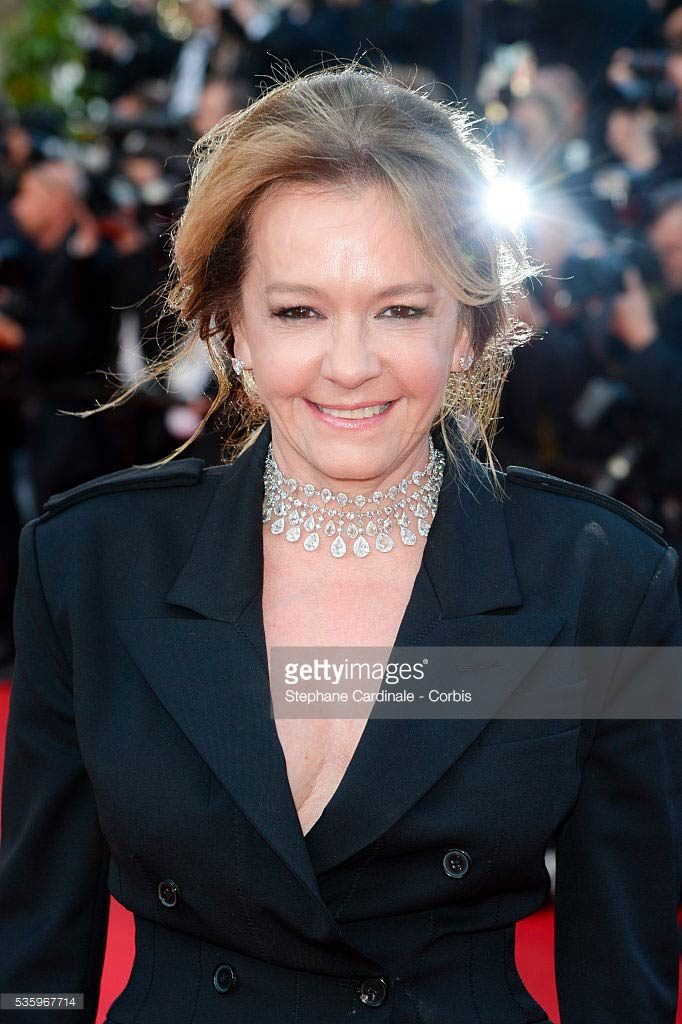 20.05.2014 - Cannes 67 - Two Days, One Night premiere - Caroline Scheufele - Makeup hair Massimo Serini