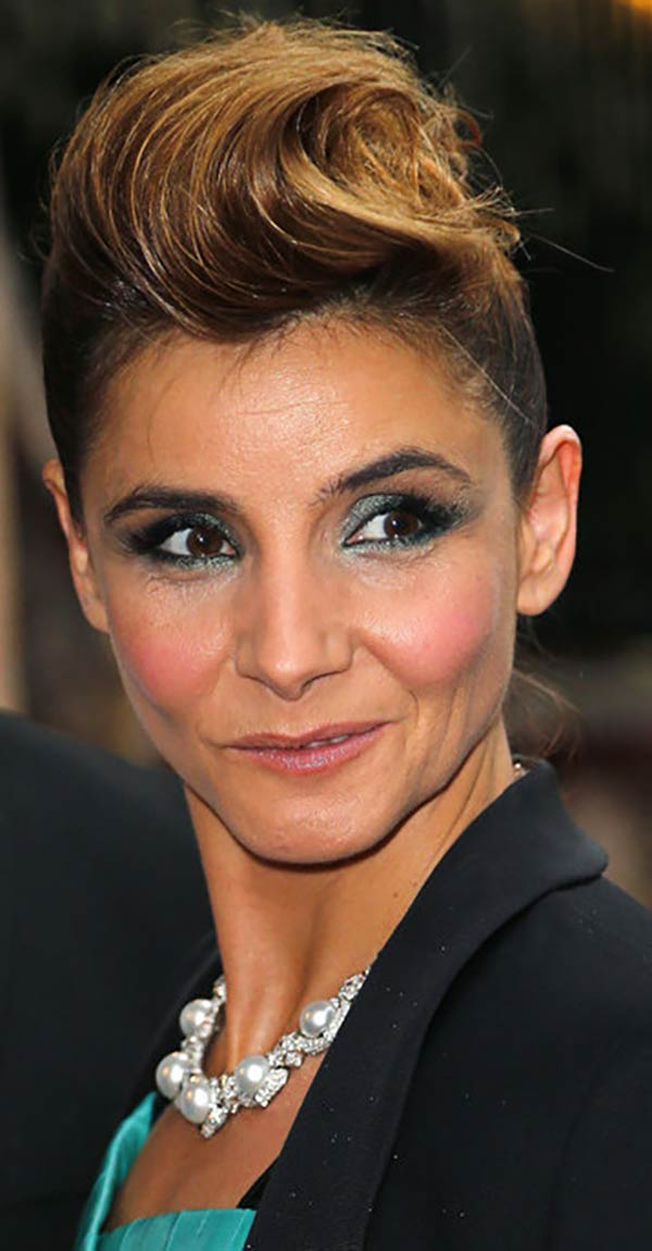 08.07.2014 - PFW Haute Couture Bulgari - Clotilde Courau - Makeup hair Massimo Serini