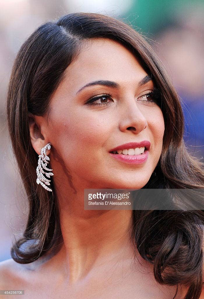 27.08.2014 - Venezia 71 - Opening Ceremony - Moran Atias - Makeup hair Massimo Serini