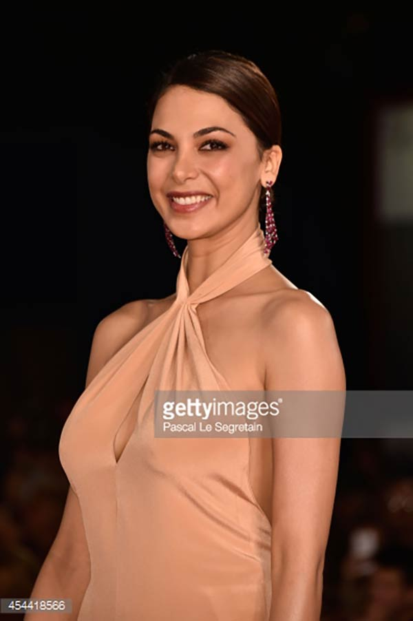 31.08.14 - Venezia 71 - The Humbling premiere - Moran Atias - Makeup hair Massimo Serini