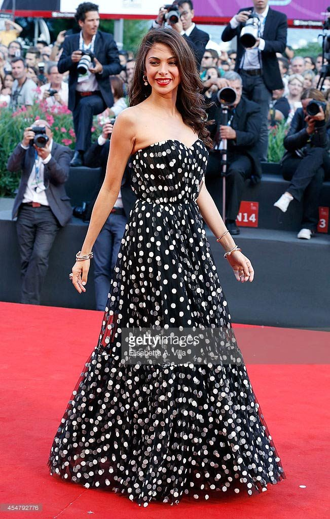 06.09.2014 - Venezia 71 Closing Ceremony - Moran Atias - Makeup hair Massimo Serini