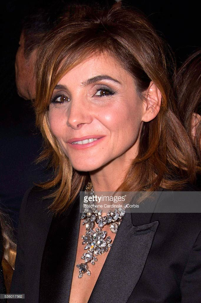 28.09.2014 - PFW SS15 Givenchy - Clotilde Courau - Makeup hair Massimo Serini
