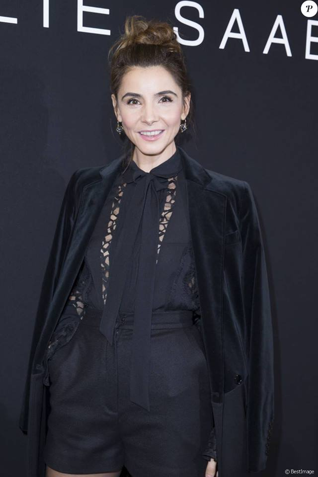 27.01.2016 - PFW Haute Couture SS16 Elie Saab - Clotilde Coureau - Makeup hair Massimo Serini