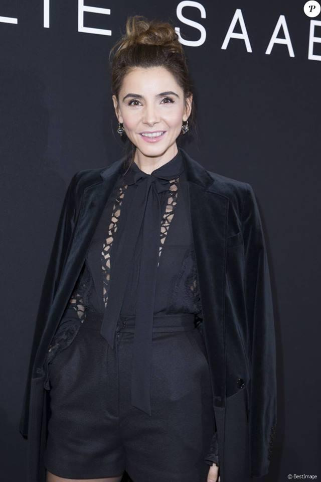 2016.01.27 - PFW Haute Couture SS16 Elie Saab - Clotilde Coureau - Makeup hair Massimo Serini