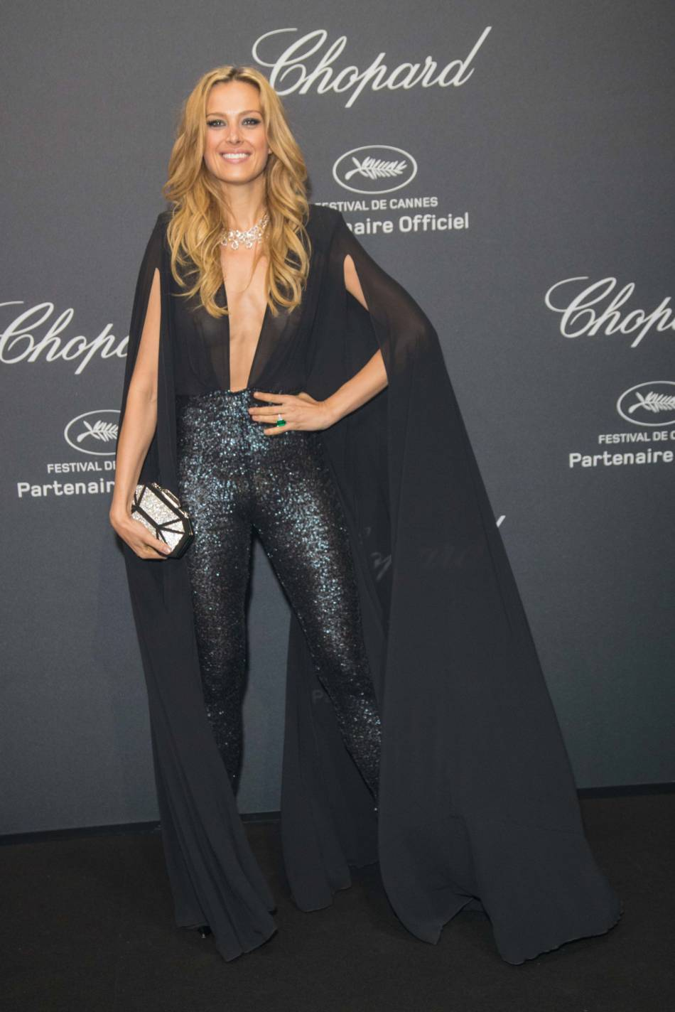 16.05.2016 - Cannes 69 - Chopard Wild Party - Petra Nemcova - Makeup hair Massimo Serini