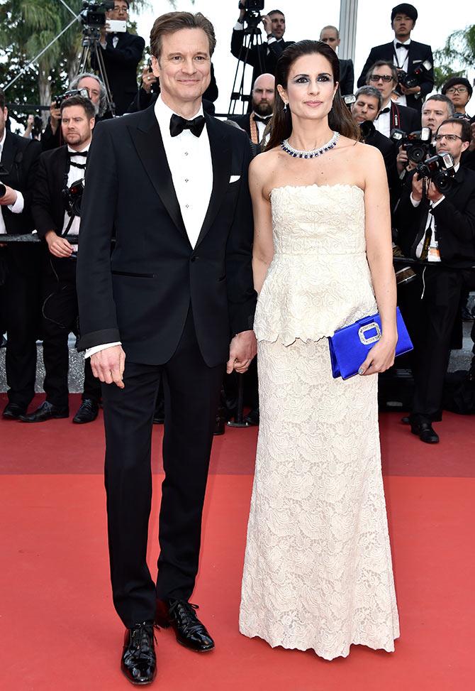 2016.05.16 - Cannes 69 - Loving premiere - Colin and Livia Firth - Makeup hair Massimo Serini