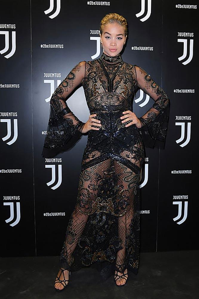 2017.01.17 - MFW Juventus - Jasmine Sanders - Makeup hair Massimo Serini