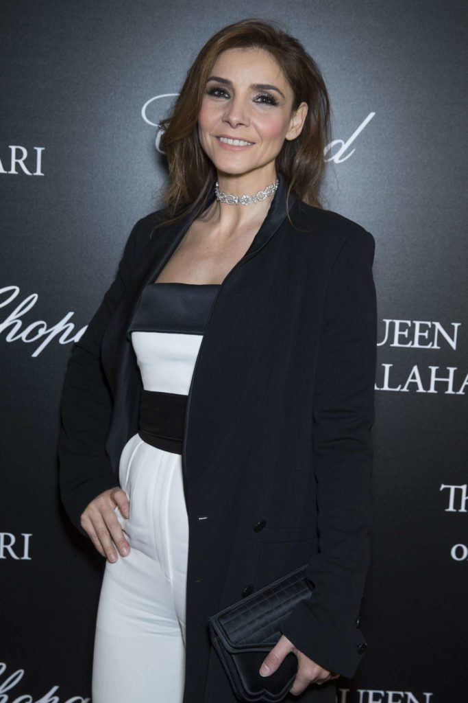 21.01.2017 - Chopard The Garden of Kalahari presenting - Clotilde Courau - Makeup hair Massimo Serini