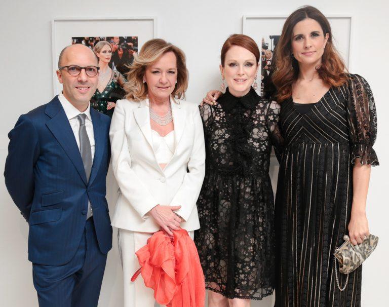 2017.04.13 - Vogue & Chopard Open Glittering Prizes - Caroline Scheufele, Livia Firth - Makeup hair Massimo Serini