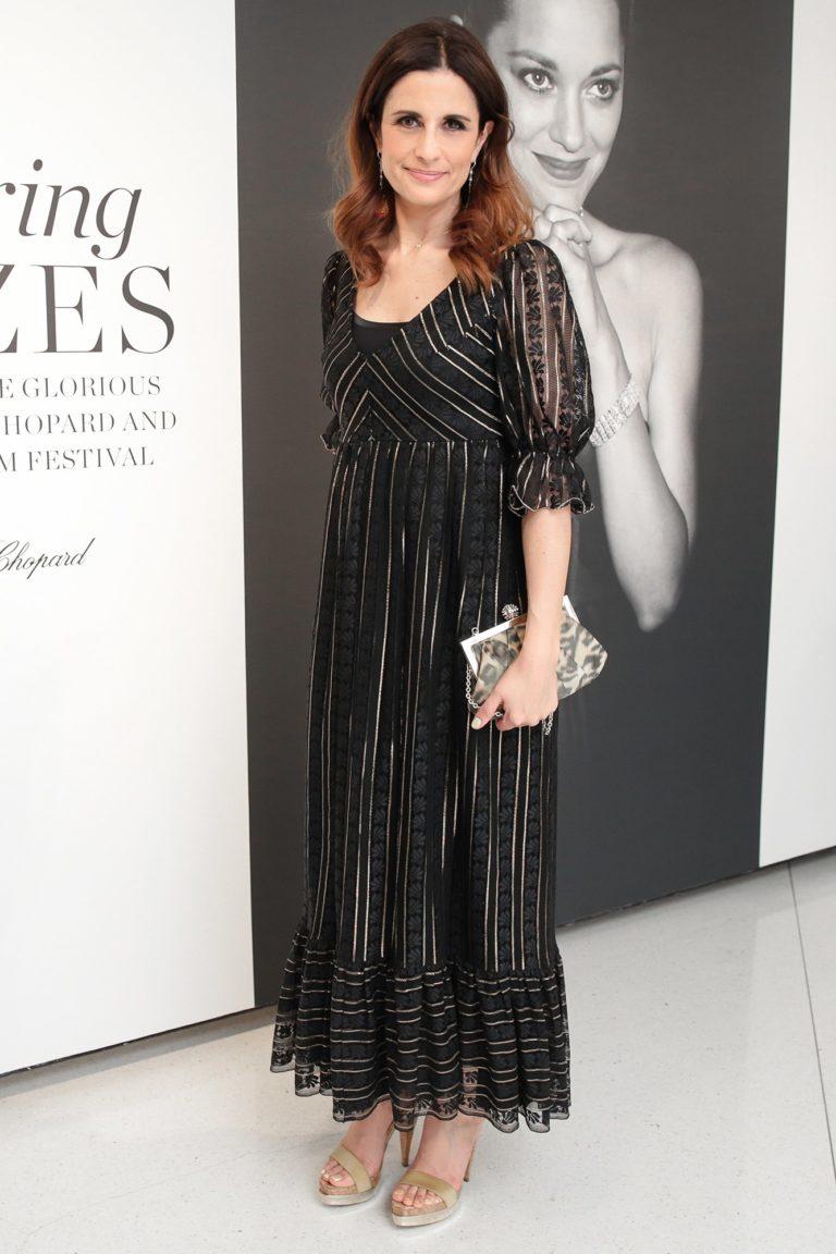 2017.04.13 - Vogue & Chopard Open Glittering Prizes - Livia Firth - Makeup hair Massimo Serini