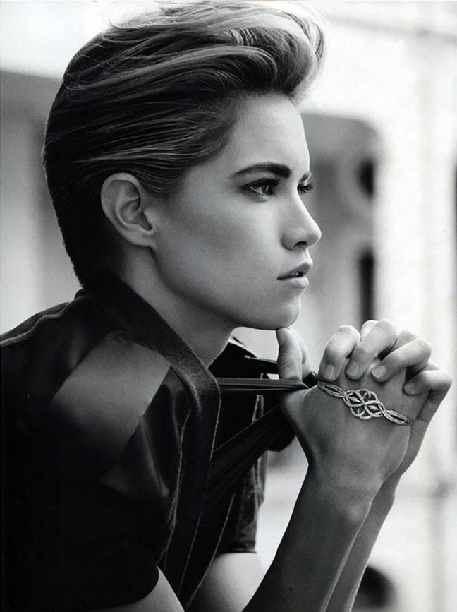Cody Horn - Makeup hair Massimo Serini