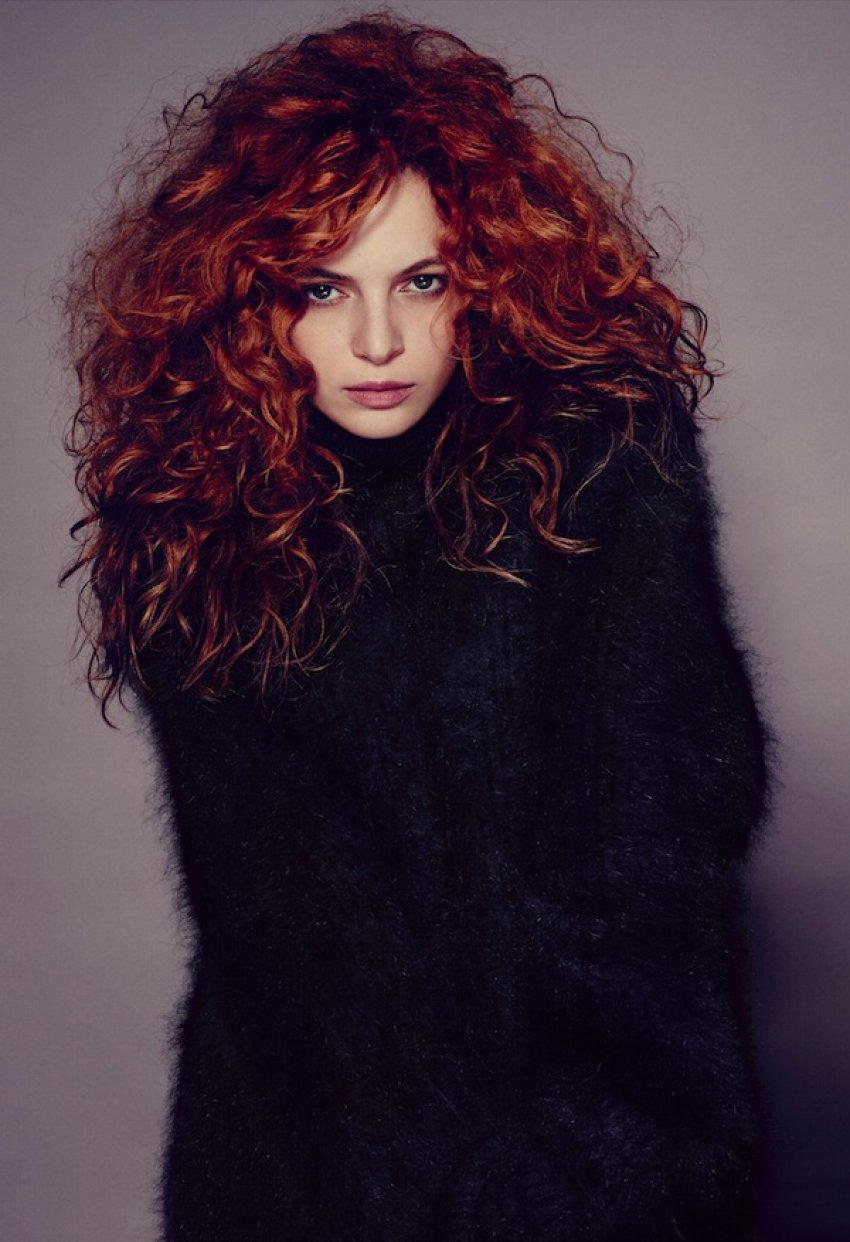 Miriam Dalmazio - Photo Max Cardelli - Hair Massimo Serini
