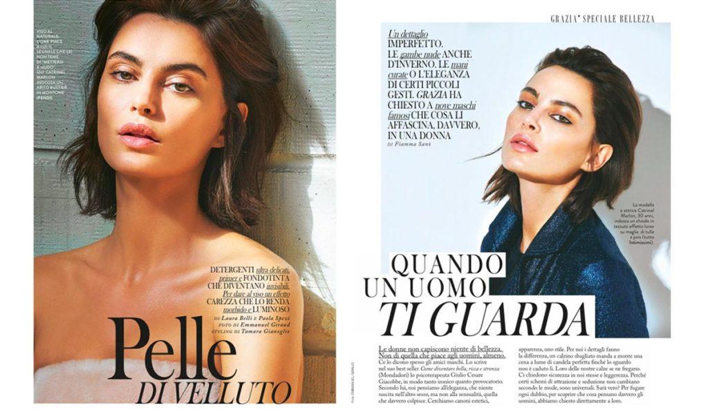 Grazia - Nov. 2015 - Catrinel Marlon - Photo Emmanuel Giraud - Hair Massimo Serini
