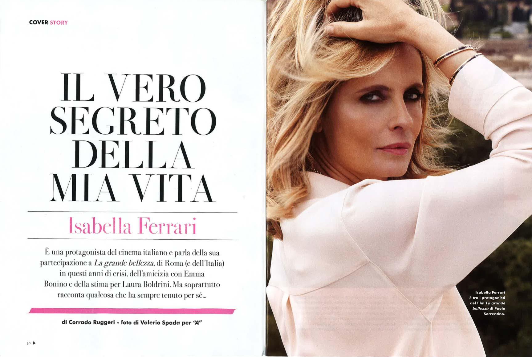 06.06.2013 - A - Isabella Ferrari - Hair Massimo Serini