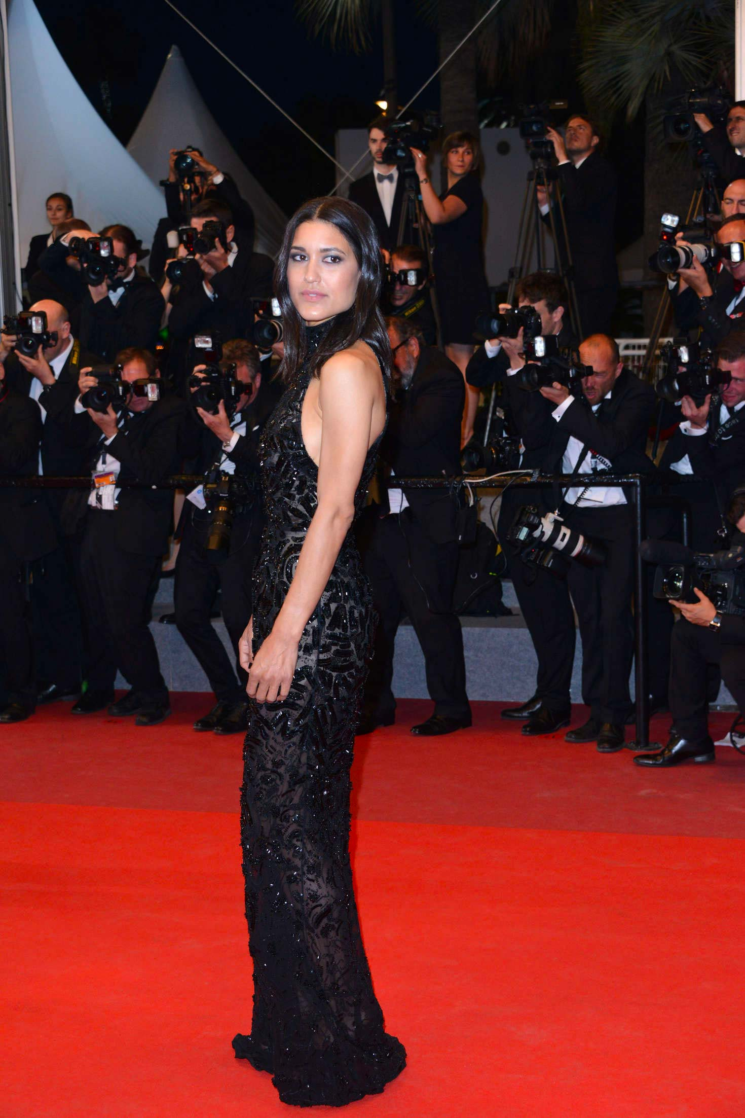 Cannes 2017 - Day 4 - The Square première - Actress Julia Jones