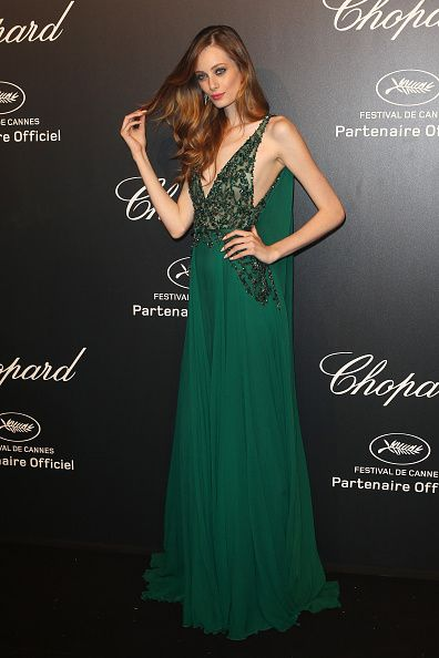 Cannes 2015 - Chopard Gold Party - Thairine Garcia