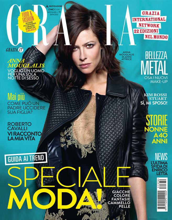 26.09.2013 - Grazia - Anna Mouglalis - Hair Massimo Serini