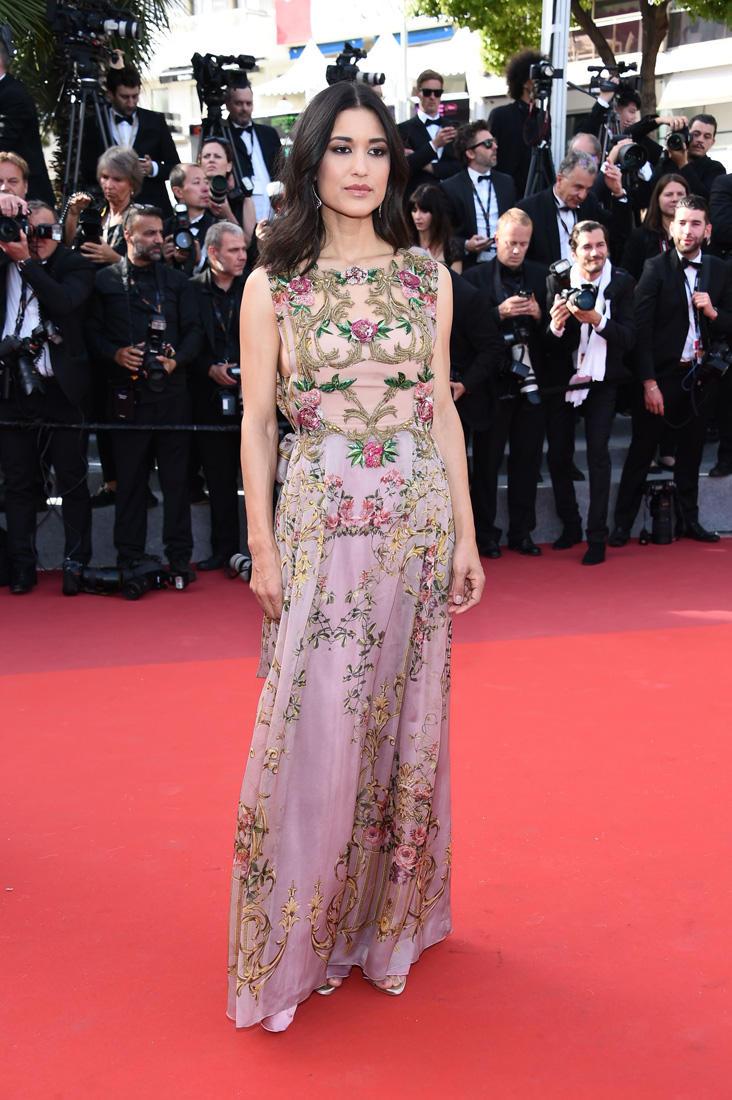 Cannes 2017 - Day 5 - The Meyerowitz première - Actress Julia Jones