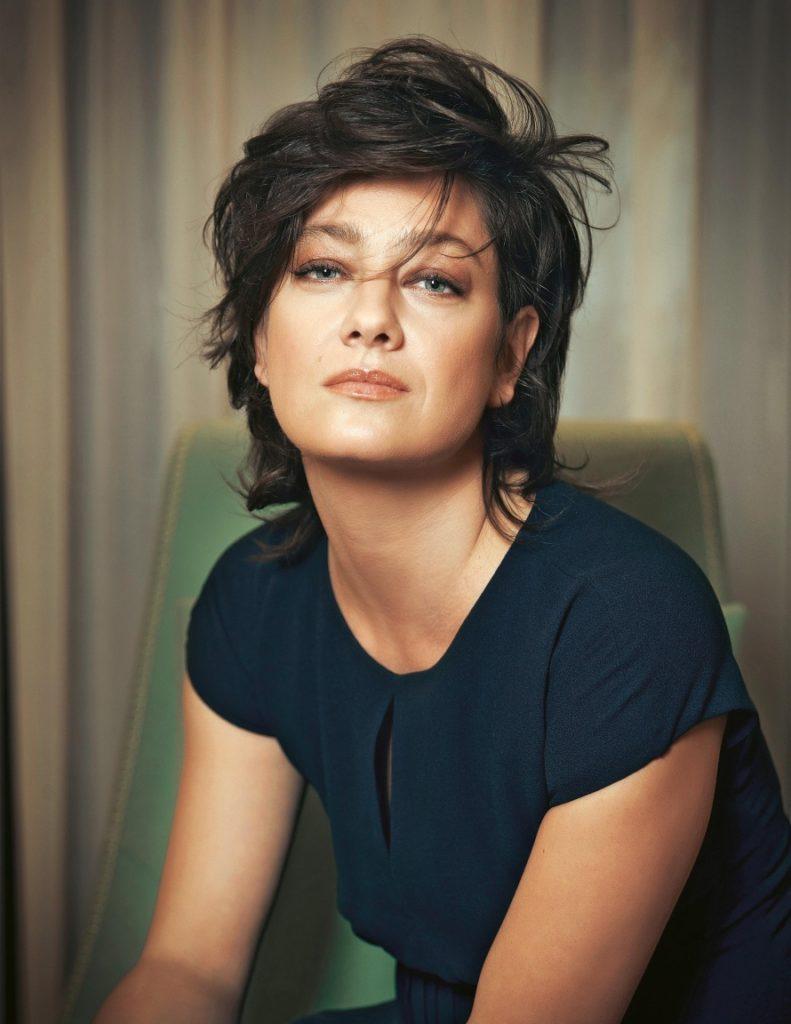 Grazia - Maggio 2016 - Giovanna Mezzogiorno - Makeup hair Massimo Serini