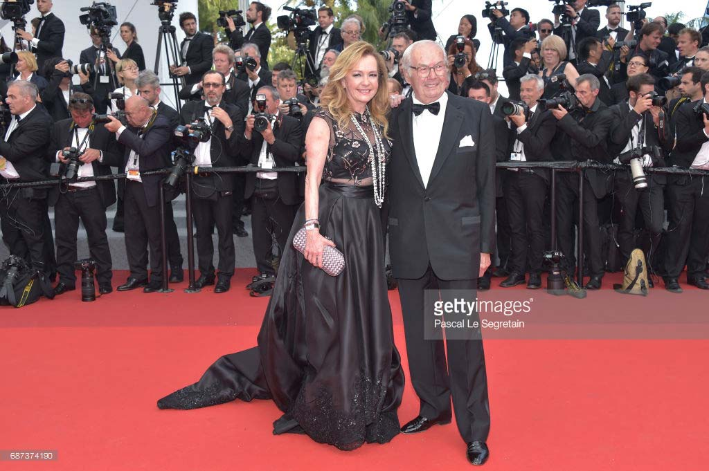 Cannes 2017 - Day 7 - 70th Anniversary Festival de Cannes - Chopard Co-President & Creative Director Caroline Scheufele and Karl-Friedrich Scheufele