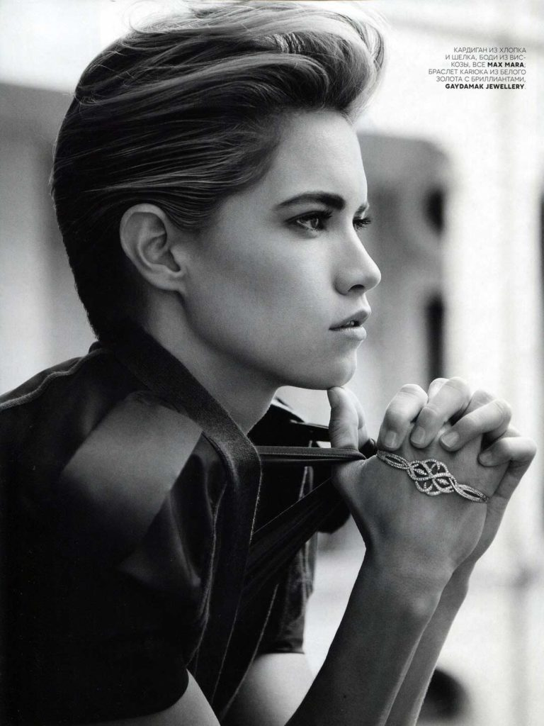 Vogue Russia - March 2013 - Cody Horn - Makeup hair Massimo Serini