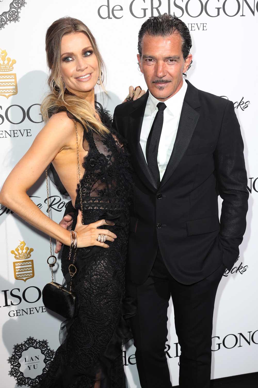 Cannes 2017 - Day 7 - De Grisogono Love on the Rocks Party - Nicole Kimpel and Antonio Banderas