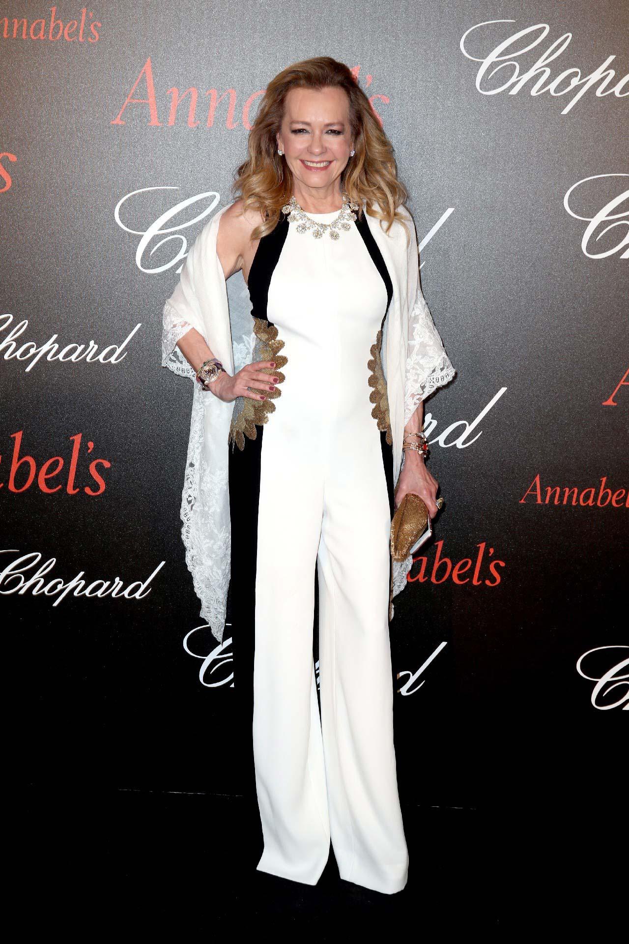 Cannes 2017 - Day 8 - Chopard & Annabel's Gentleman Evening - Chopard Co-President & Creative Director Caroline Scheufele