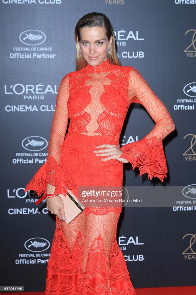 Cannes 2017 - Day 8 - L'Oreal 20th Anniversary Party - Top Model & Chopard Ambassador Petra Nemcova
