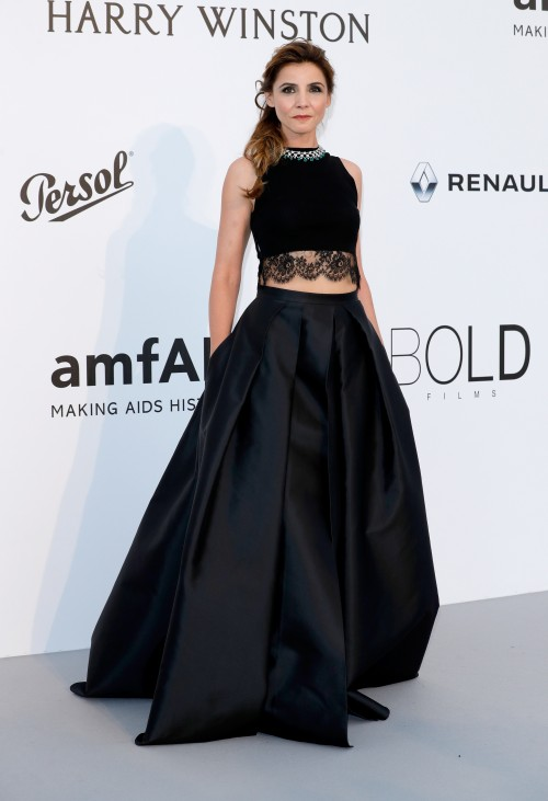 Cannes 2017 - Day 9 - AmfAR Gala - Princess Clotilde Courau