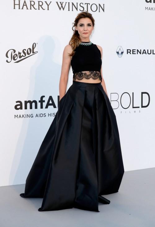 Cannes 2017 - Day 9 - AmfAR Gala - Princess Clotilde Courau